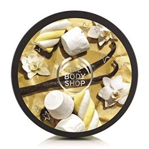 New The Body Shop Vanilla Marshmallow Body Butter